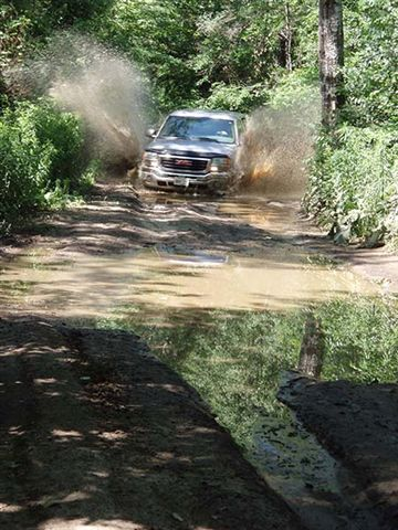 Bill Driving through the Obstacle
