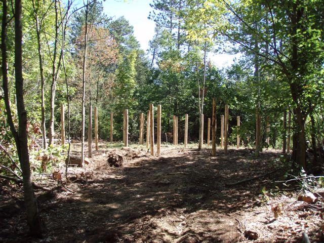 4th Circle Woodhenge 5