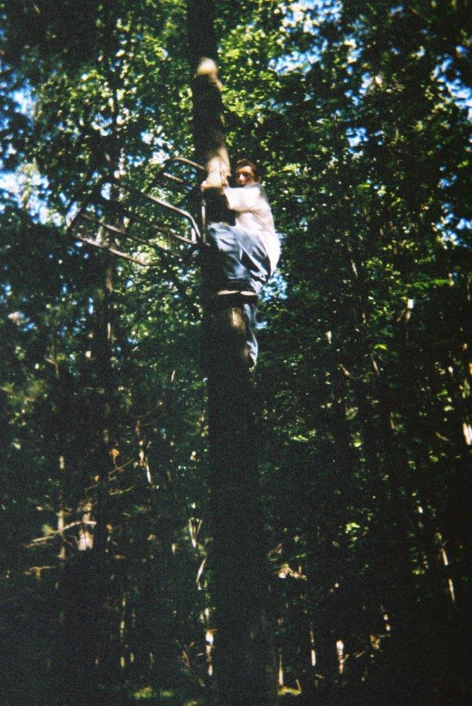 Justin Armstrong Climbing Tree Stand