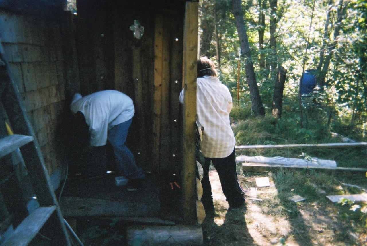 Justin Armstrong and Jesse Footit Building the Wall 3