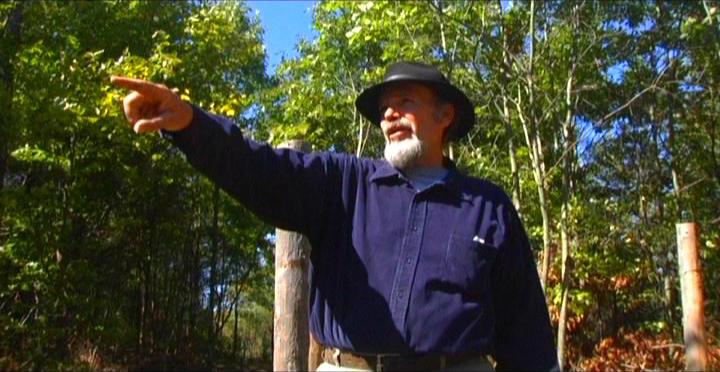Woodhenge Ceremony - Pointing South