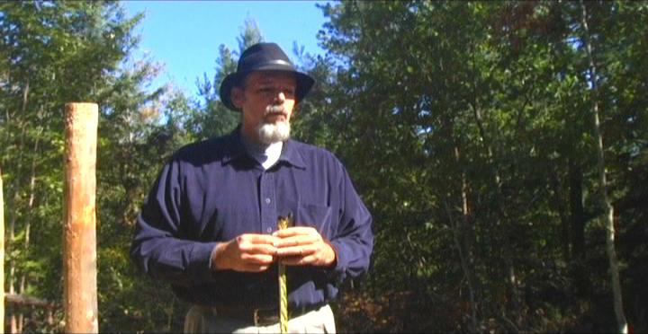 Woodhenge Ceremony -Walking with sweet grass