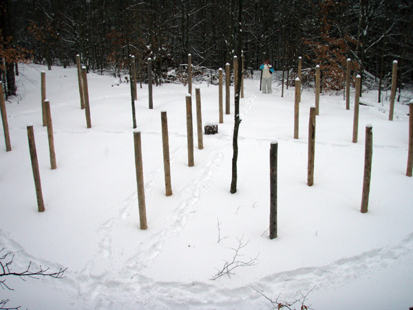 Forest Woodhenge - Groundhog Day 2