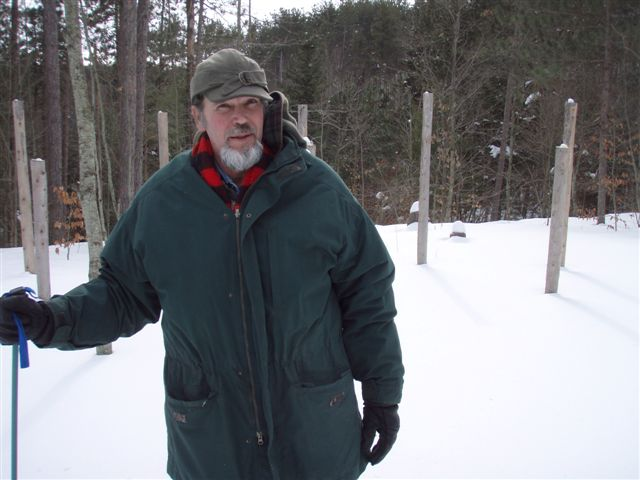 Forest Woodhenge midwinter Bill Frey