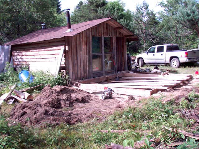 The Cabin - Foundation Work (4)