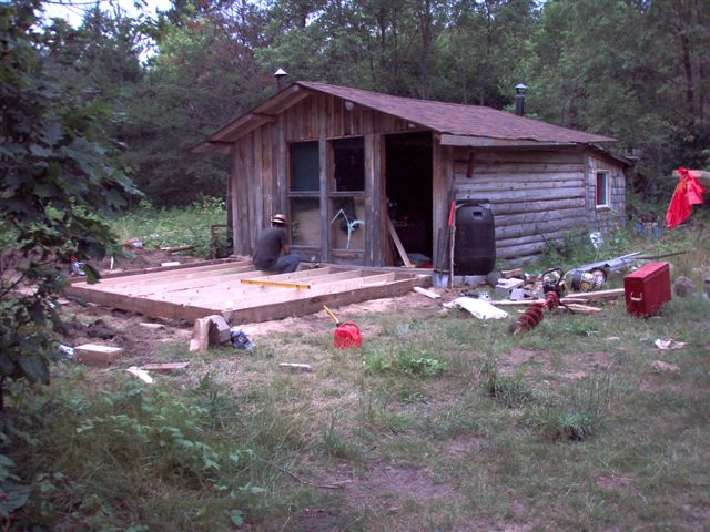 The Cabin - Foundation Work (6)