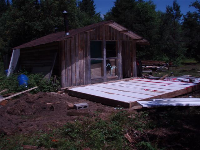 Cabin - Insulating the Foundation!