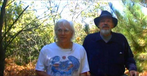 Woodhenge Ceremony - Walking up to the woodhenge 3
