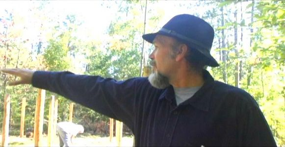Woodhenge Ceremony Bill Frey Pointing East