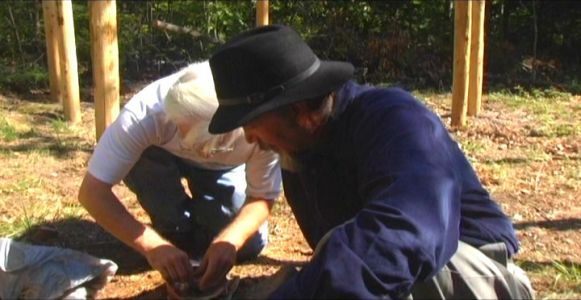 Woodhenge Ceremony Preparing the Incense
