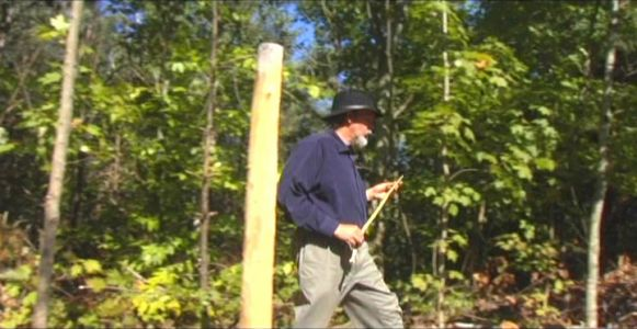 Woodhenge Ceremony - Walking Around Outer Circle