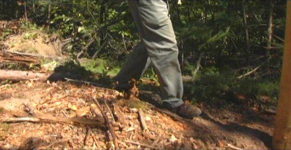 Woodhenge Ceremony - Walking Around Outer Circle 2