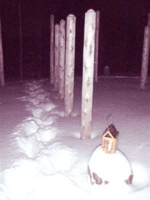 Forest Woodhenge - Winter Solstice - Meditation