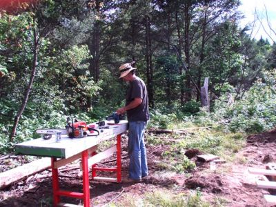The Cabin - Foundation Work (3)