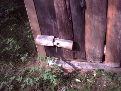 The Outhouse - Wooden Hinges