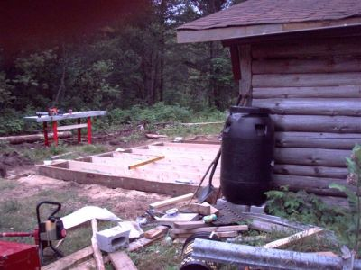 The Cabin - Foundation Work (7)