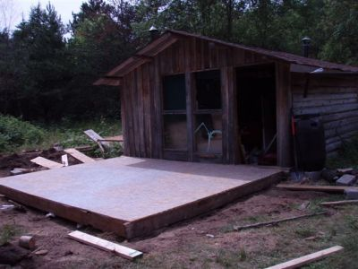 Cabin - Foundation Covered