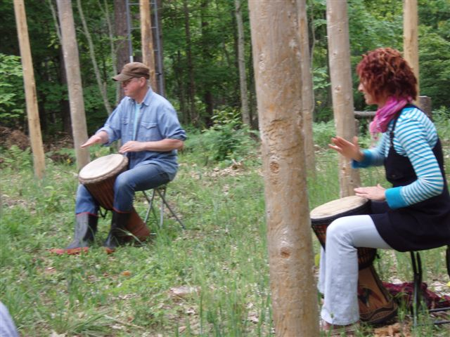 Summer Solstice - Drumming the I Ching! (4)