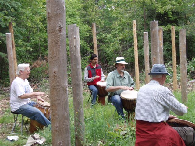 Summer Solstice - Drumming the I Ching!