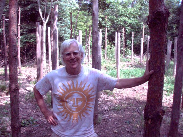 Robin Armstrong at Forest Woodhenge