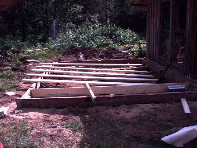 The Cabin - Foundation Work (2)