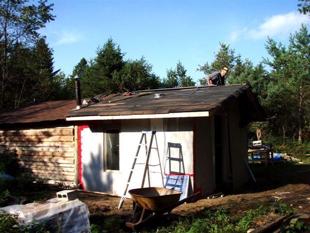 Cabin Bill Frey Roofing