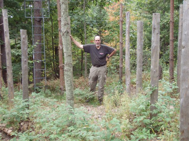 Forest Woodhenge Fall Equinox Bill Frey