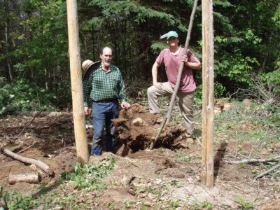 Forest Woodhenge - Victory - the Big Stump is out!