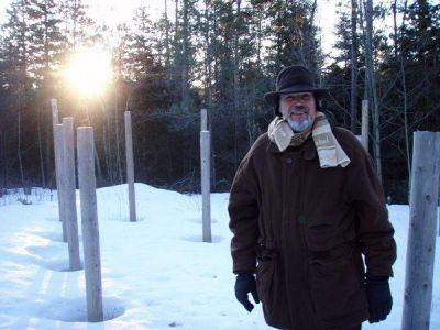 Forest Woodhenge - Spring Equinox - Sunrise - Bill Frey