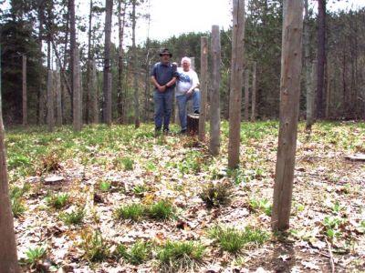 Forest Woodhenge - Bill & Robin