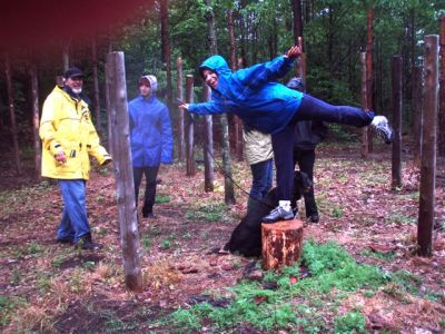 Forest Woodhenge Gets you Higher!