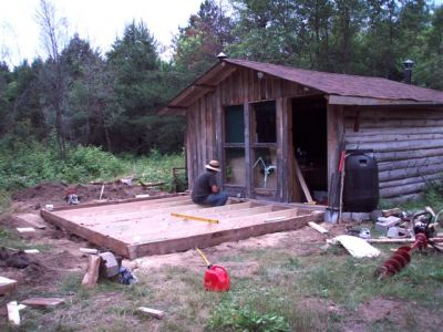 The Cabin - Foundation Work (5)
