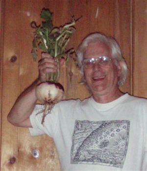 Garden Turnip!