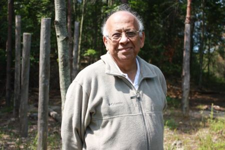 Subrata Mitra at Forest Woodhenge
