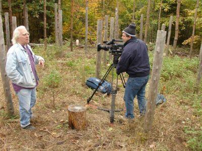 Robin Explaining Woodhenge