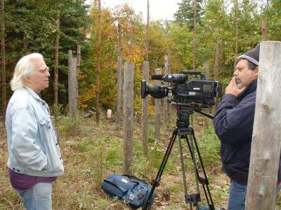 Peter Elliott Filming Robin