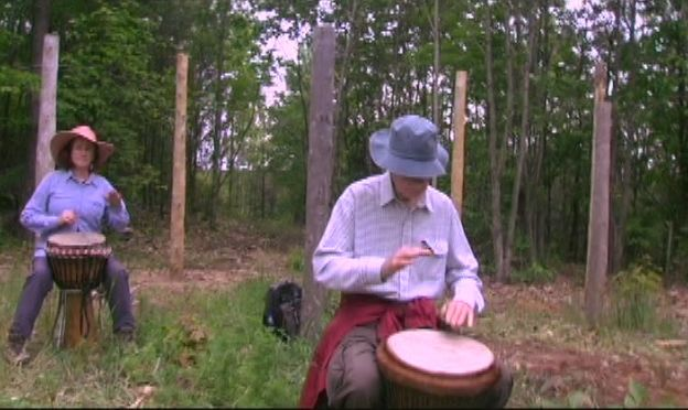 Summer Solstice - Drumming the I Ching! (28)